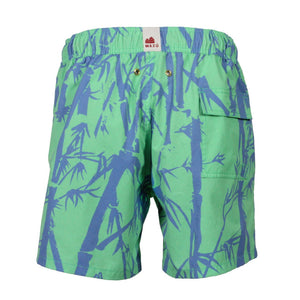 Inspired by how common bamboo is used in Asian Culture , Mazu Resortwear is a luxury men's swim shorts and trunks swimwear brand inspired by Asian maritime history with attention to high quality and comfort for the modern gentleman/man. Each pair of shorts comes with a free ditty bags to keep your belongings.