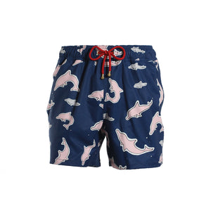 Mazu Resortwear Classic Swim Shorts | Tai O | Pink Dolphin Design