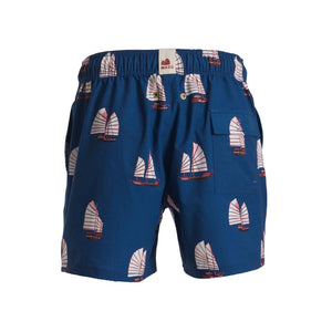 Mazu Resortwear Classic Swim Shorts | Junk High Tide | Junk Boat Design