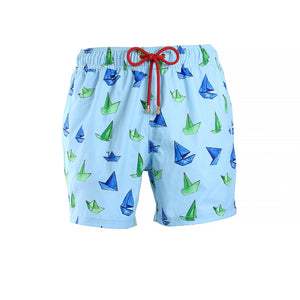 Mazu Resortwear Classic Swim Shorts | Ori | Origami Boat Design