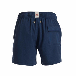 Inspired by the uniform of the Hong Kong Star Ferry, Mazu Resortwear is a luxury men's swim shorts and trunks swimwear brand inspired by Asian maritime history with attention to high quality and comfort for the modern gentleman/man. Each pair of shorts comes with a free ditty bags to keep your belongings.