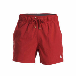 Mazu Resortwear Classic Swim Shorts | Star Ferry Tanbark | Star Ferry Design