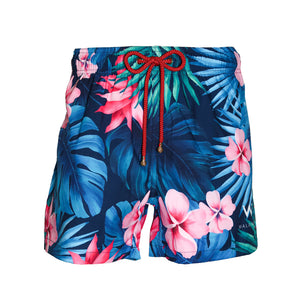 W Maldives Recycled Plastic Swim Shorts Tropical