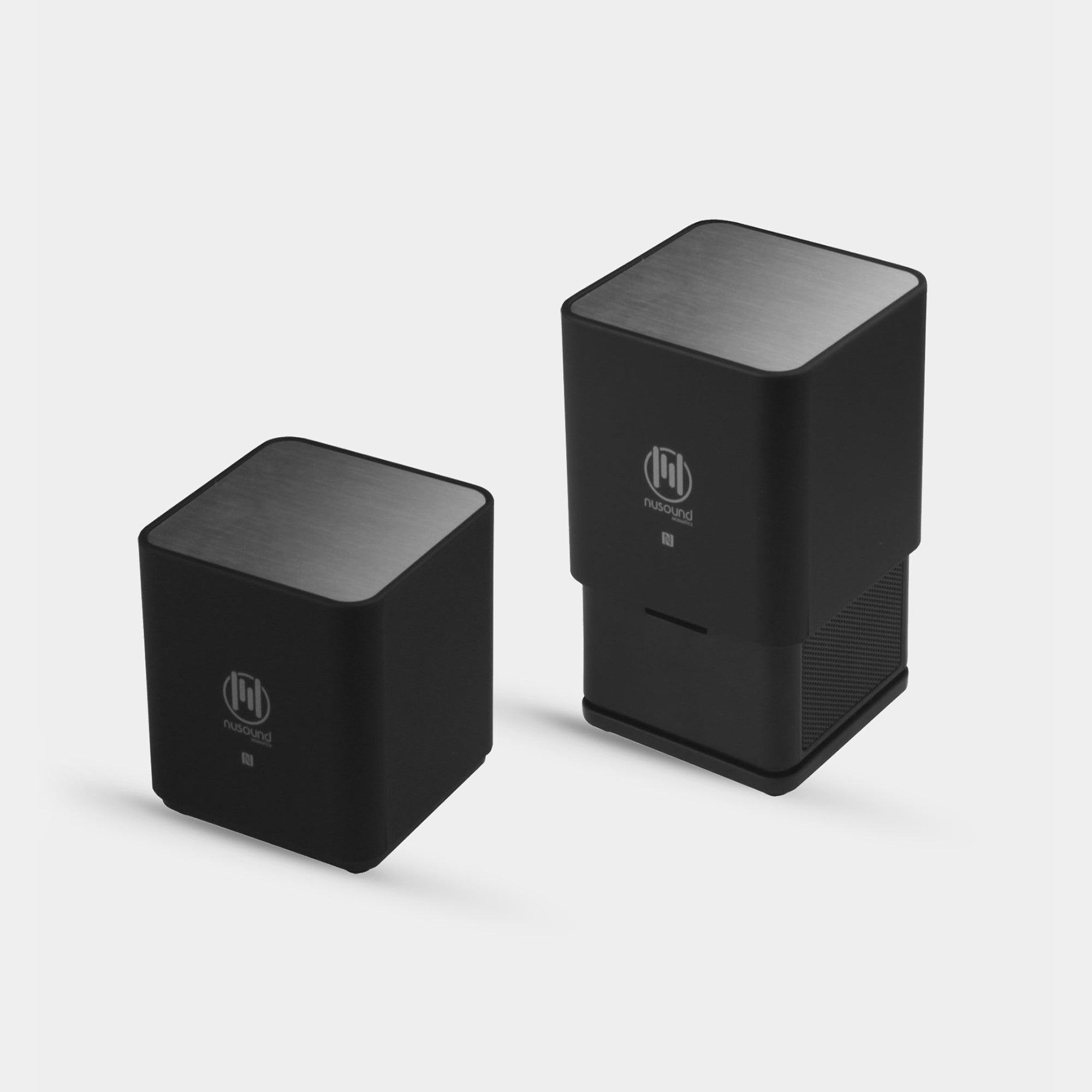 "NUSOUND AUDIO CUBE ""CUBiC"" NFC Bluetooth Stereo Speaker"