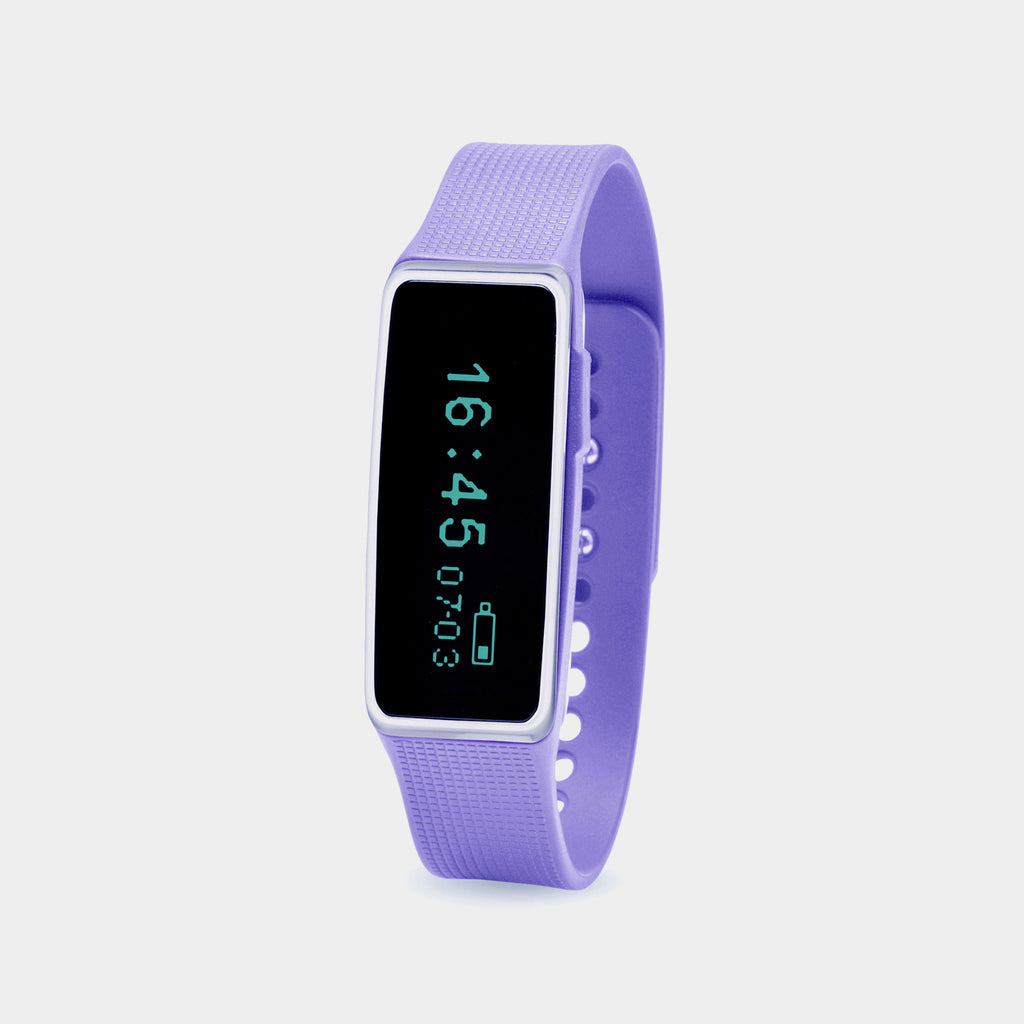 NUBAND ACTIV+ Wireless Activity Tracker (Lilac)