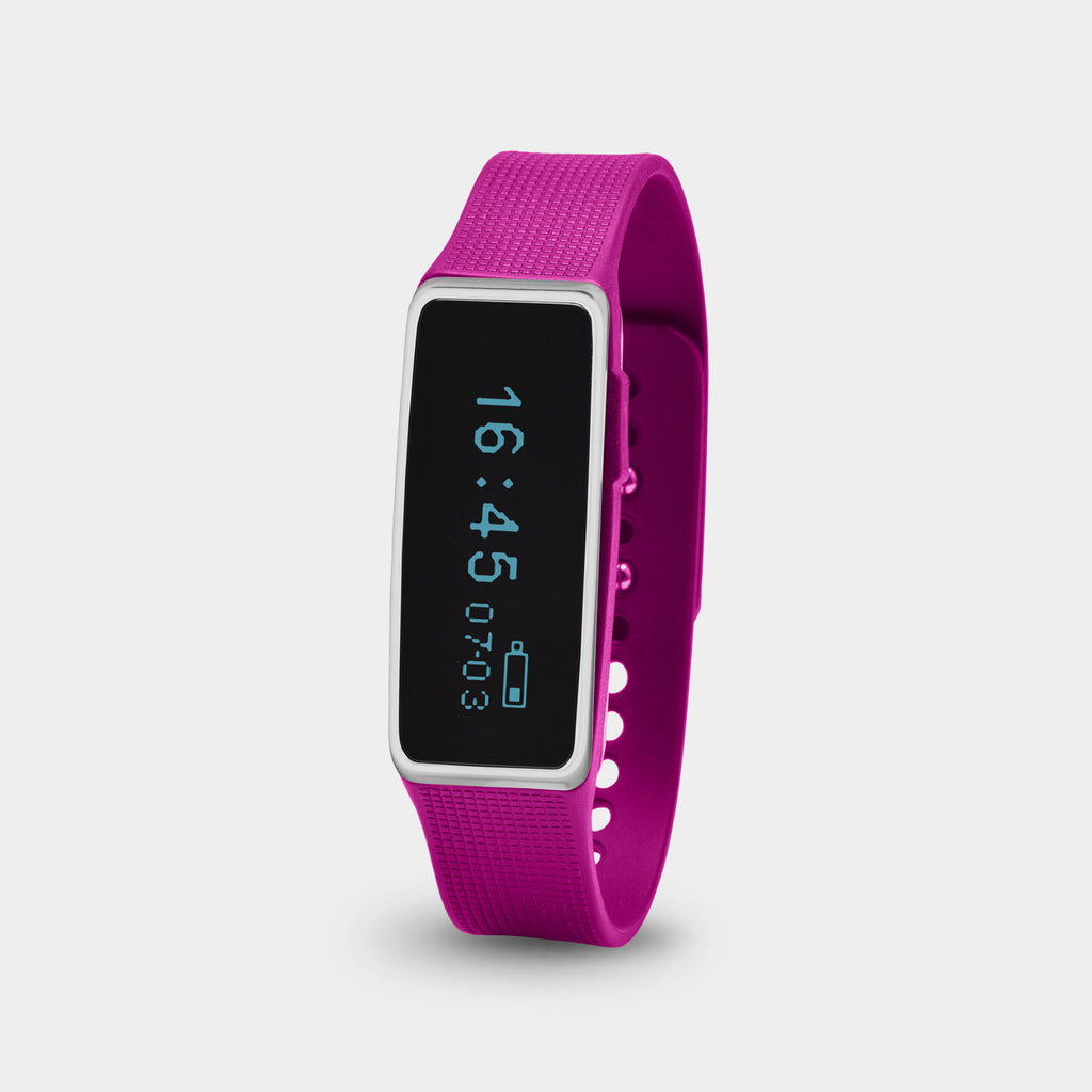 NUBAND ACTIV+ Wireless Activity Tracker (Pink)