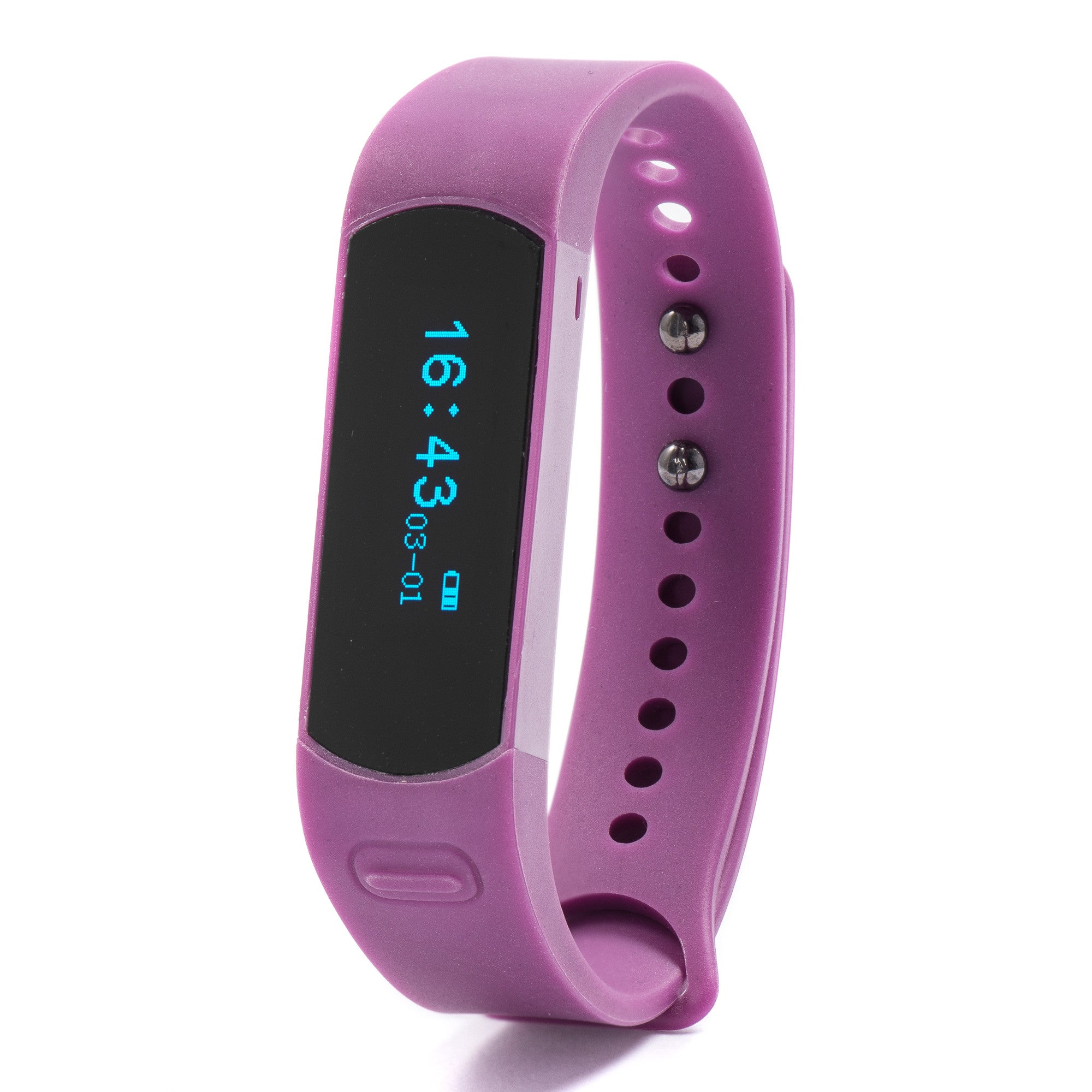 NUBAND EVOLVE Multi Sport Wireless Activity and Sleep Tracker (Plum)