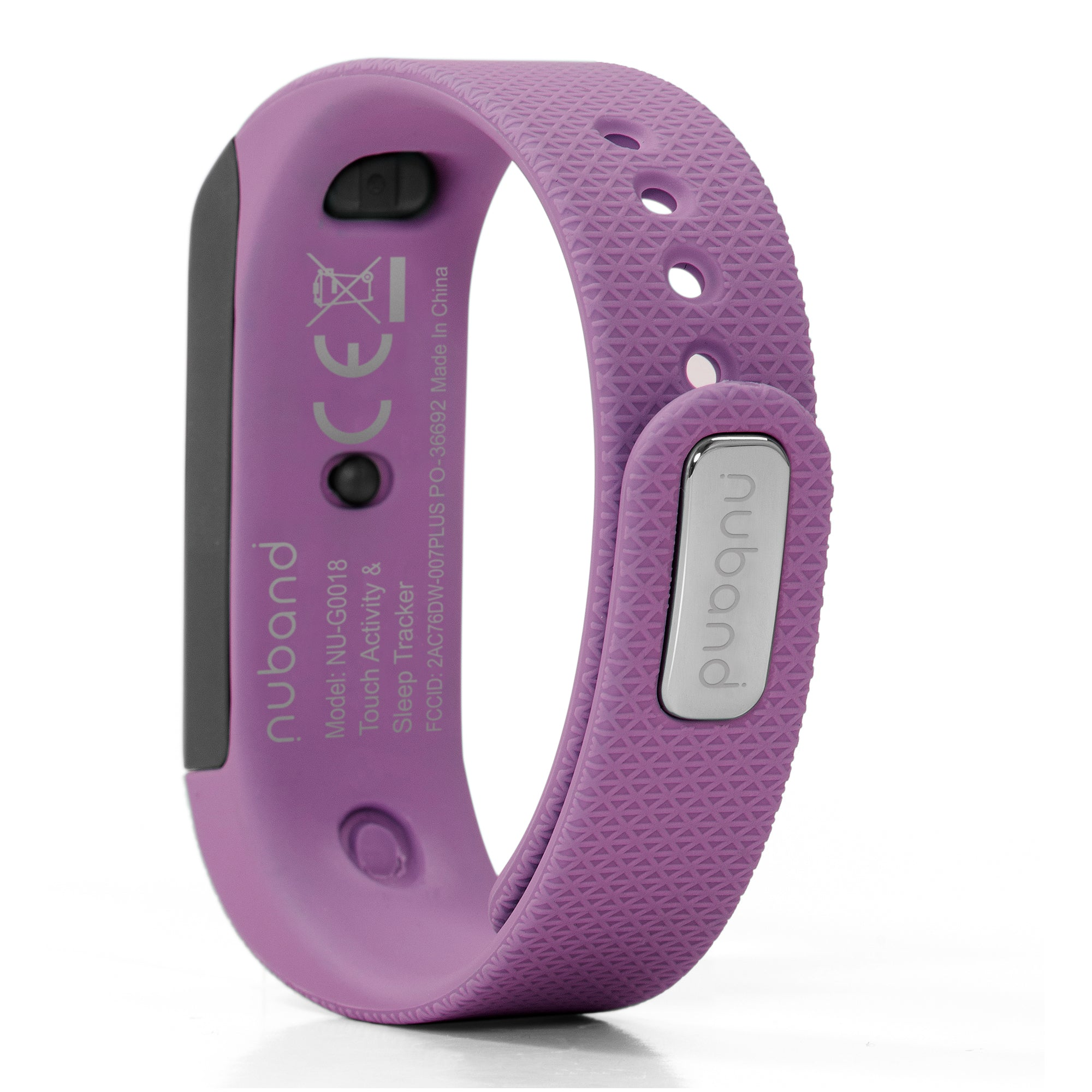 NUBAND i-TOUCH Wireless Activity and Sleep Tracker (Plum)