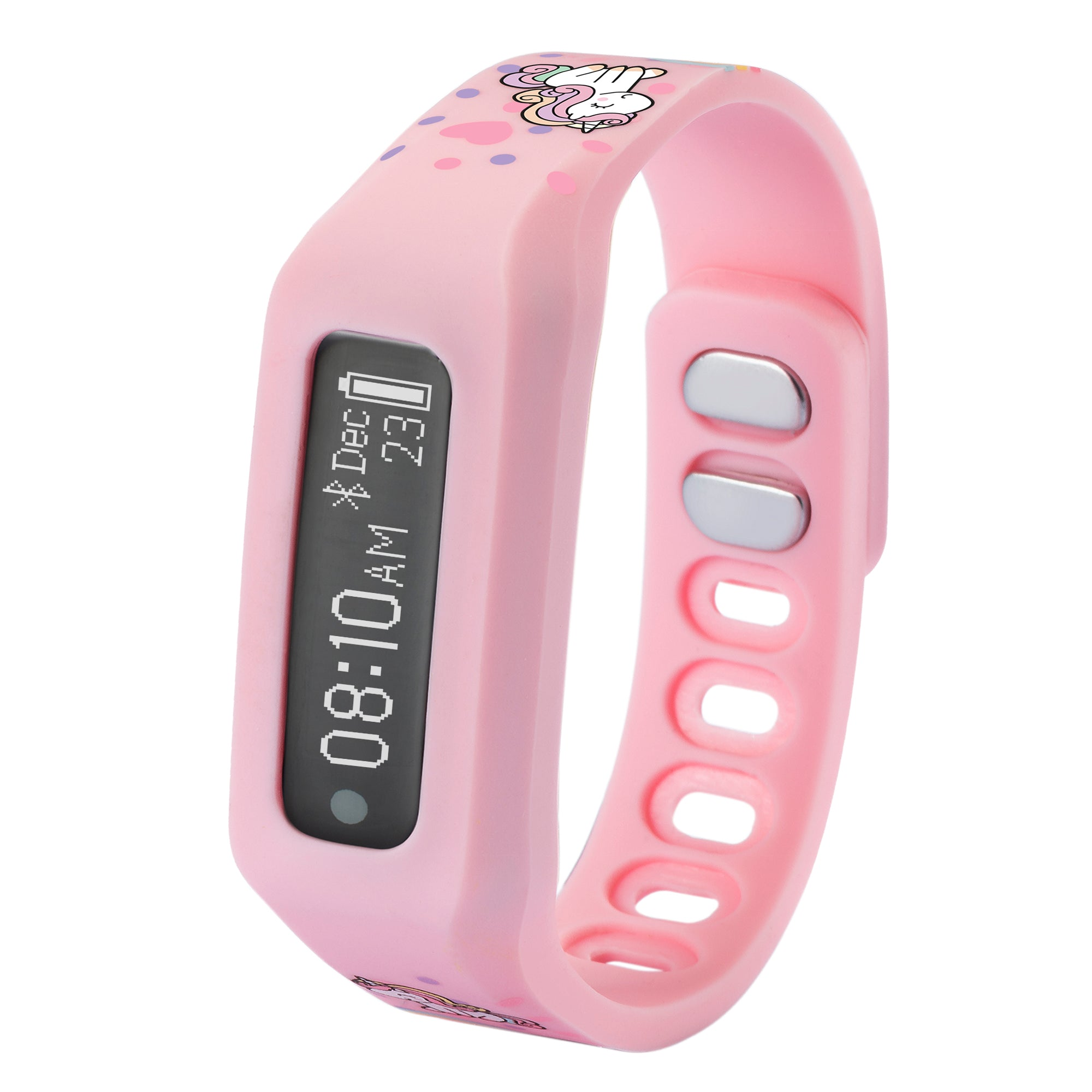 NUBAND JR CHAMPS_PINK UNICORN ACTIVITY AND SLEEP TRACKER
