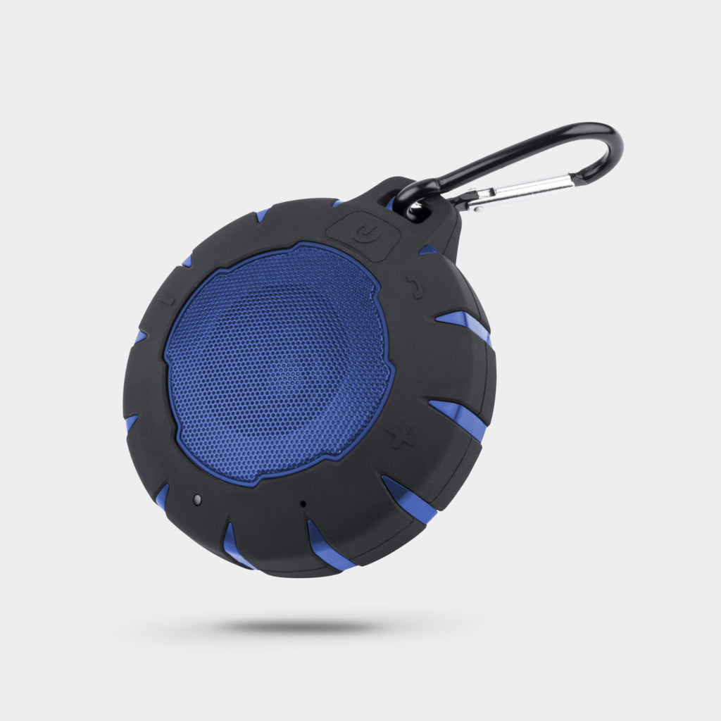 NUSOUND WAVE RIDER Waterproof IPX7 Speaker (Blue)