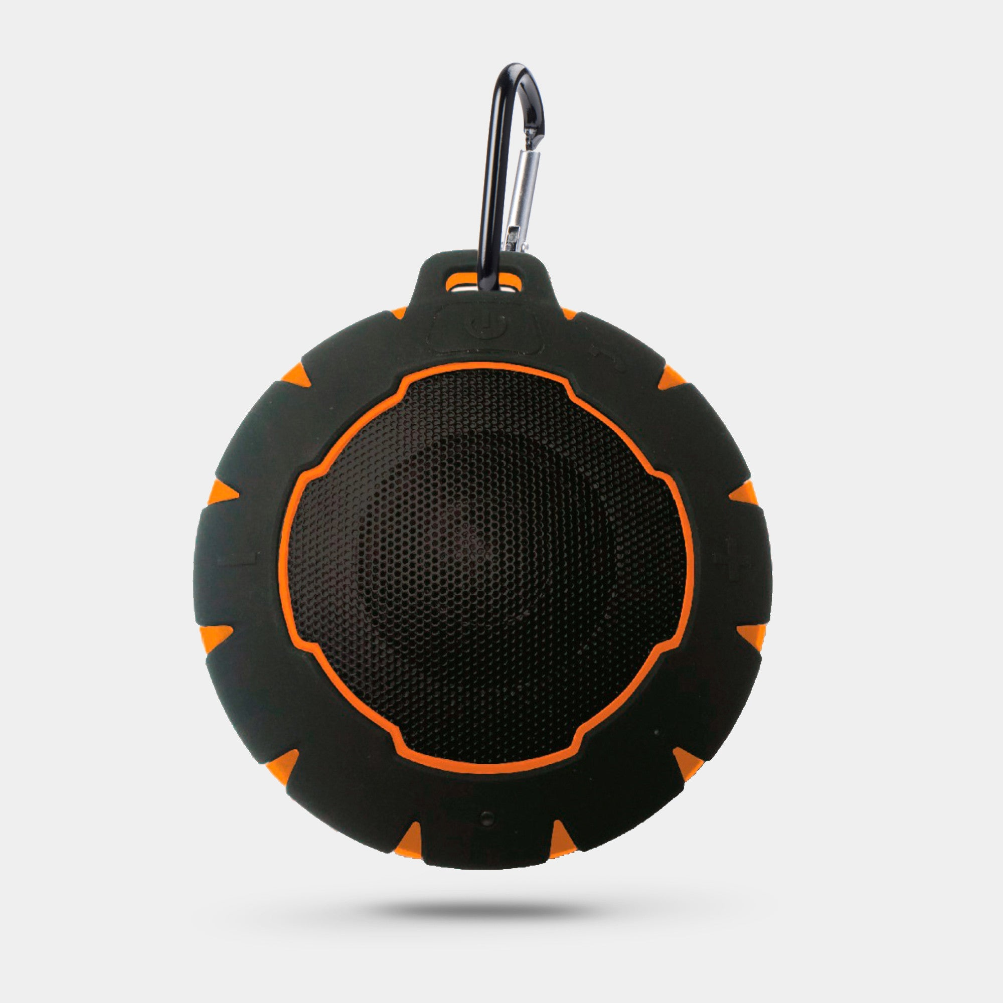 NUSOUND WAVE RIDER Waterproof IPX7 Speaker (Orange)