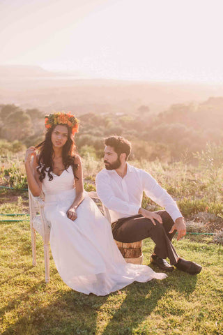 Wedding corsages, buttonholes, bouquets and arrangements by Fabulous Flowers - Wedding Florist Cape Town