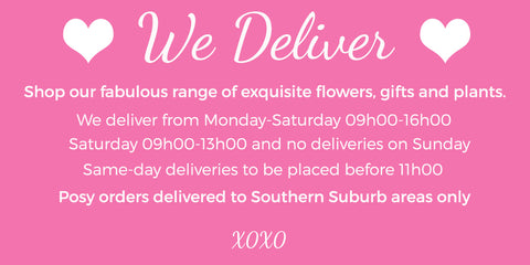 Fabulous Flowers - flower delivery Cape Town. Cape Town florist. Flowers delivered to your door.