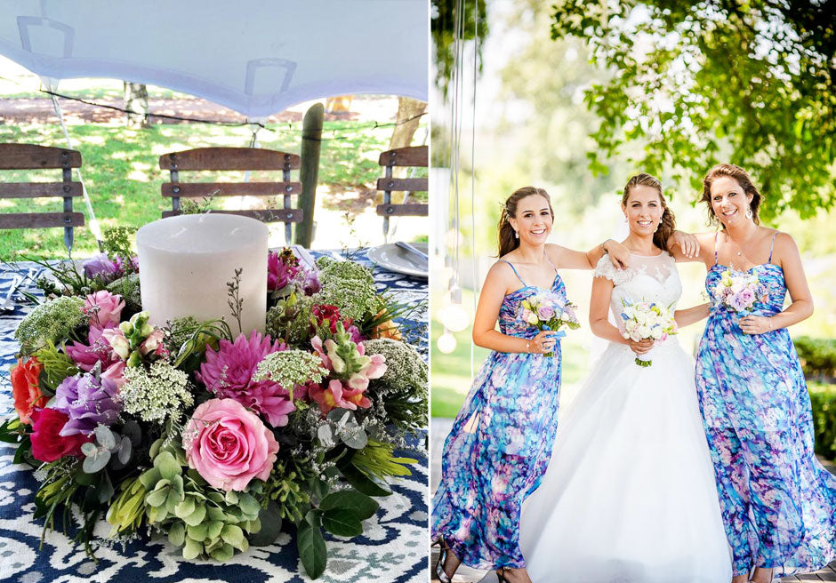 Cape Town Weddings with Fabulous Flowers
