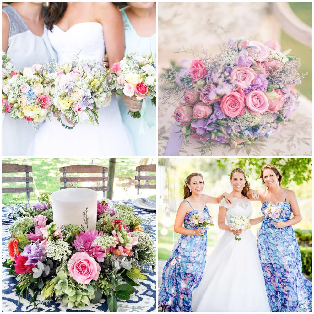 Wedding Flowers Cape Town - Fabulous Flowers. Order flowers for your wedding - posies, bouquets, buttonholes, arrangements, table arrangements and more