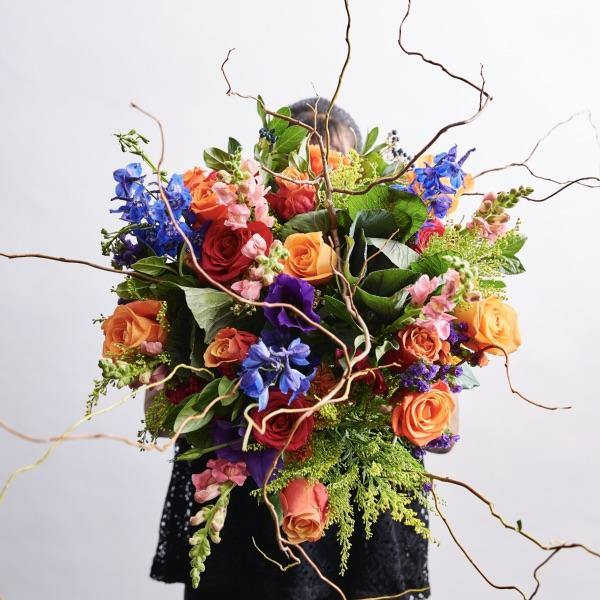 Brilliantly Happy Bouquet - Fabulous Flowers Cape Town Flower Delivery