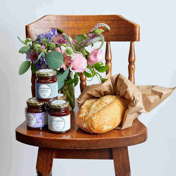 Flowers Jam and Bread | Fabulous Flowers