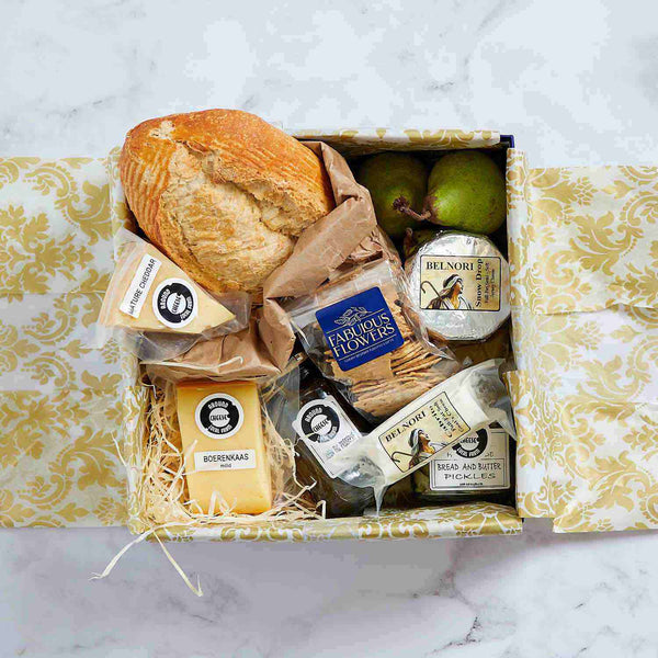 Luxury Cheese and Bread Picnic Box | Fabulous Flowers