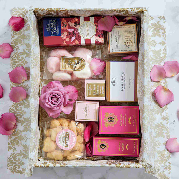 Pamper and Indulge Gift Box | Fabulous Flowers