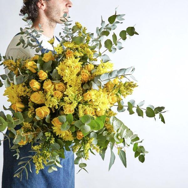 Sunkissed Yellow Bunch - Fabulous Flowers Cape Town Flower Delivery