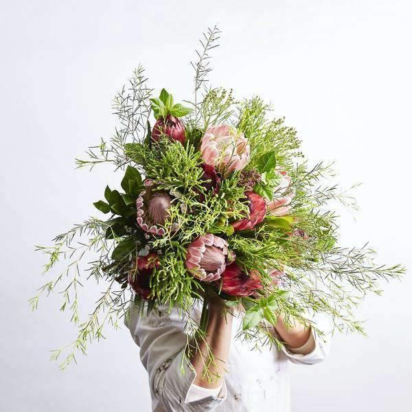 Beautiful Bouquets - Cape Town Protea Bunch