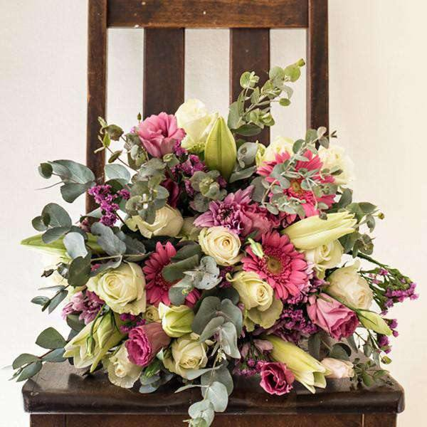 Pink Expression Bouquet - Fabulous Flowers Cape Town Flower Delivery