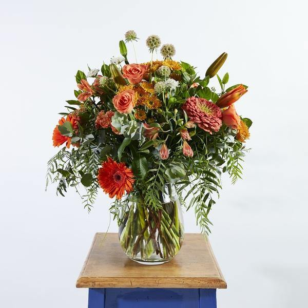 Bright Sunshine in a Vase - Fabulous Flowers Cape Town Flower Delivery