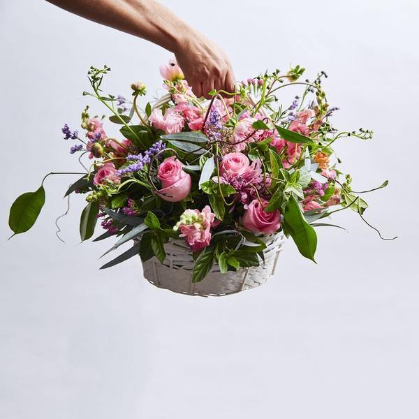 Country Basket - Fabulous Flowers Cape Town Flower Delivery