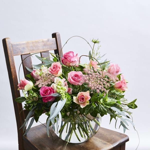 Flower Arrangements - Fabulous Rose Bowl