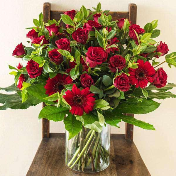 Flower Arrangements - Red Rose Passion