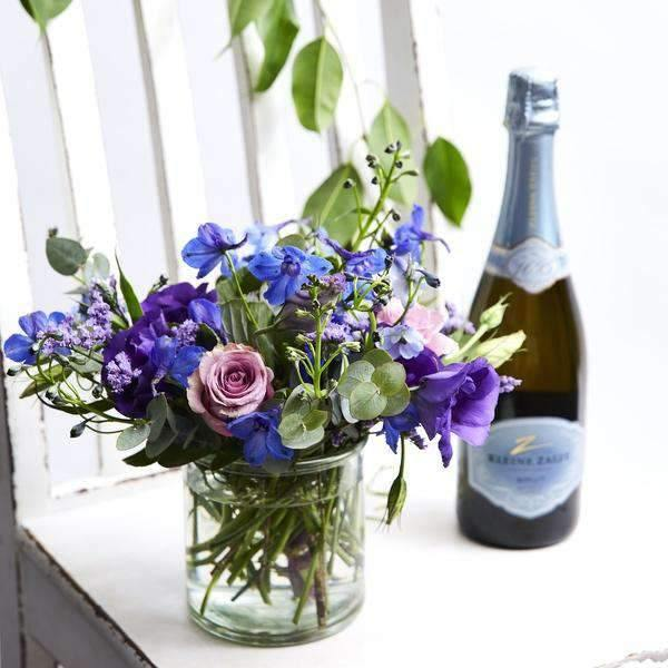 Bubbles and Blue - Fabulous Flowers Cape Town Flower Delivery