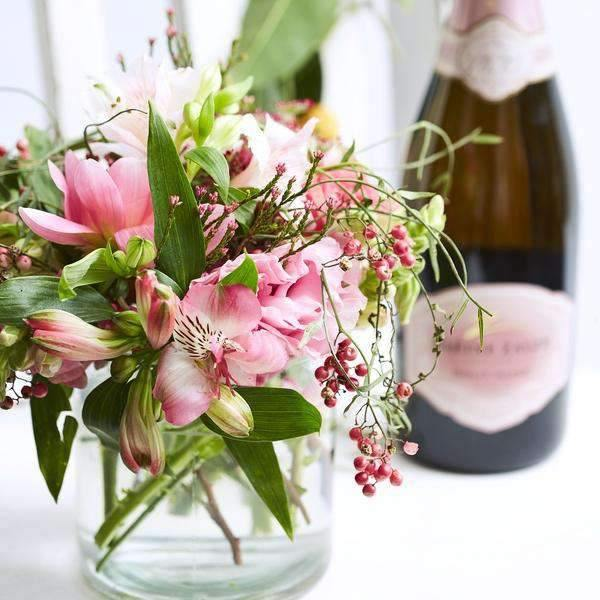 Bubbles and Pink - Fabulous Flowers Cape Town Flower Delivery