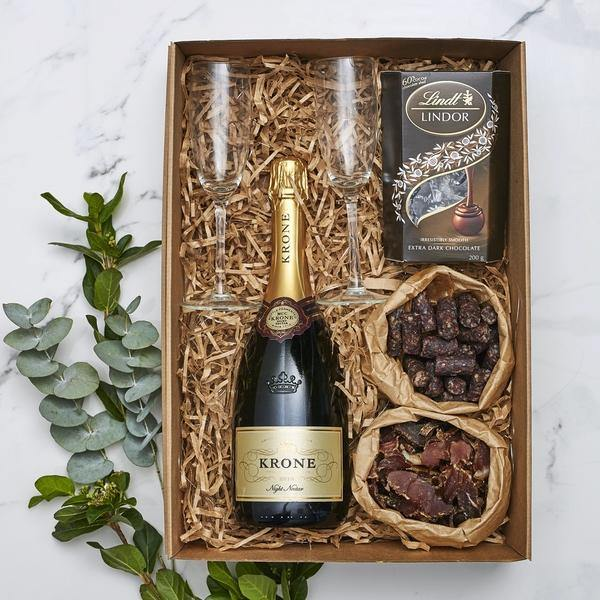 Celebrate A Good Life Gift Box - Fabulous Flowers Cape Town Flower Delivery