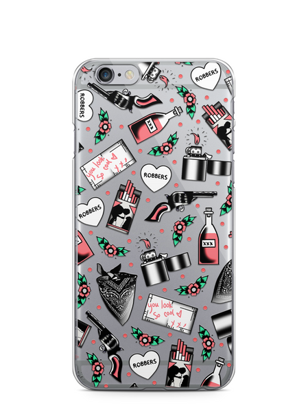 Robbers iPhone 5/5s/SE & 6/6+ Case