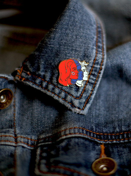 Women's Enamel Pin