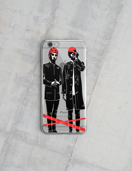 Blurry Bros iPhone 5/5s/SE & 6/6+ Case