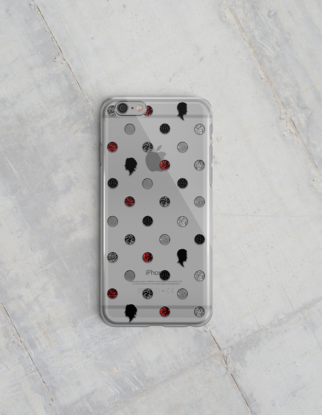 21 Polka Dot iPhone 5/5s/SE & 6/6+ Case