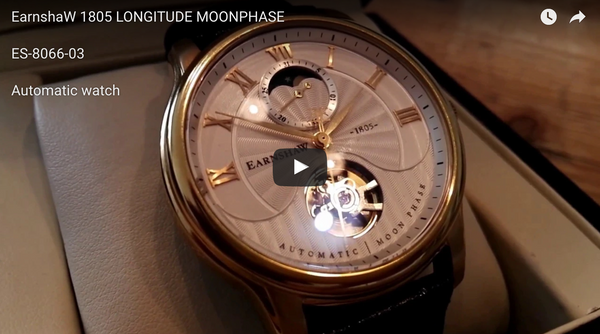 THOMAS EARNSHAW LONGITUDE MOONPHASE AUTOMATIC REVIEW BY GADGETGEAR.NL