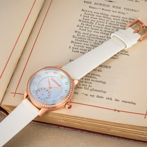 Rose Gold White