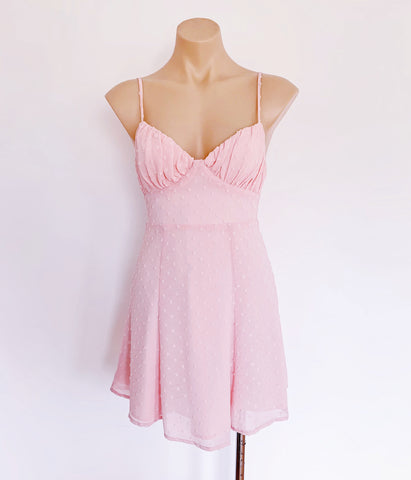 cute pink summer dress
