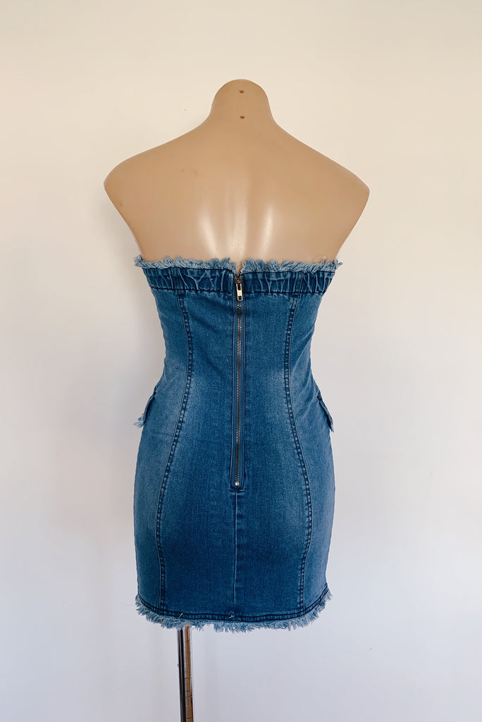 Roza Denim Dress for $119.00