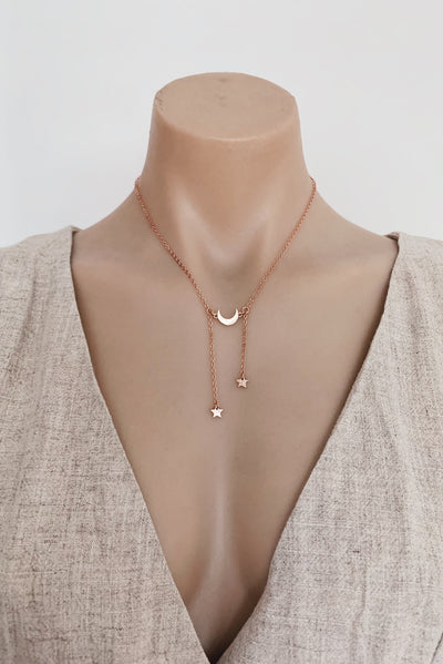 Kalisi Necklace in Rose Gold - HER Empire Fashion Boutique Terrigal & Online