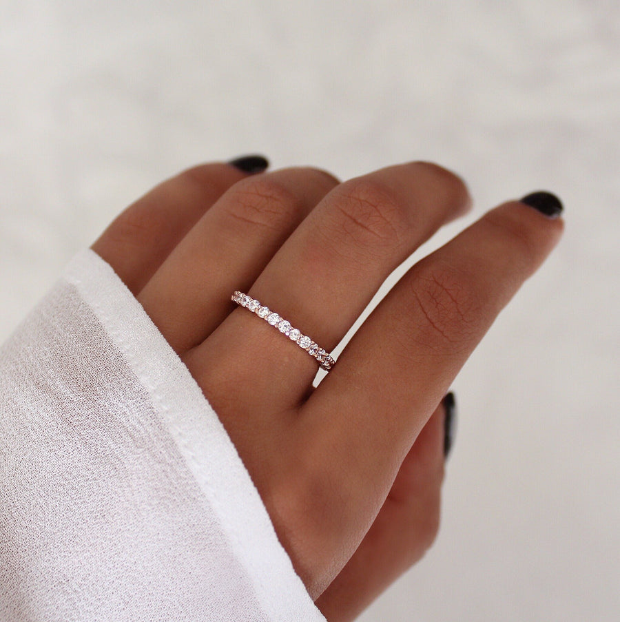 Elle Ring in Rose Gold - HER Empire Fashion Boutique Terrigal & Online