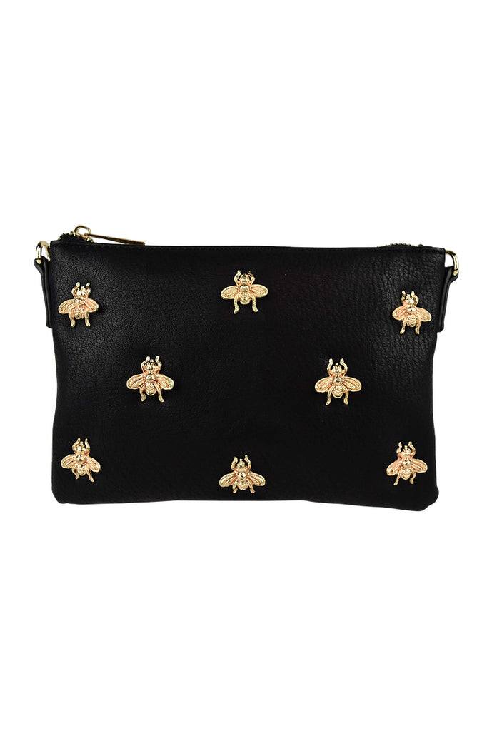 Bee Clutch in Black for $49.95