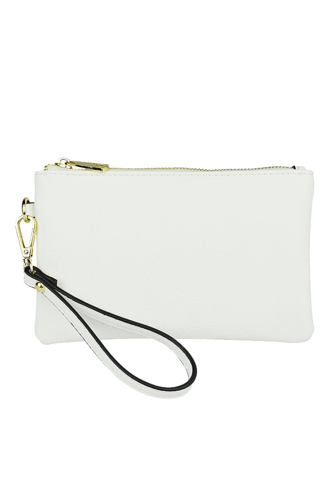 Bella Clutch in White - HER Empire Fashion Boutique Terrigal & Online