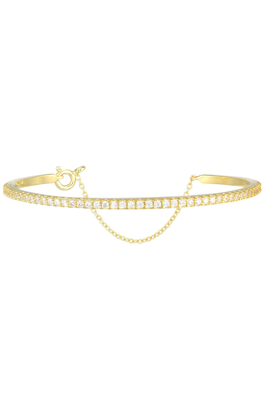 Layla Bangle in Gold