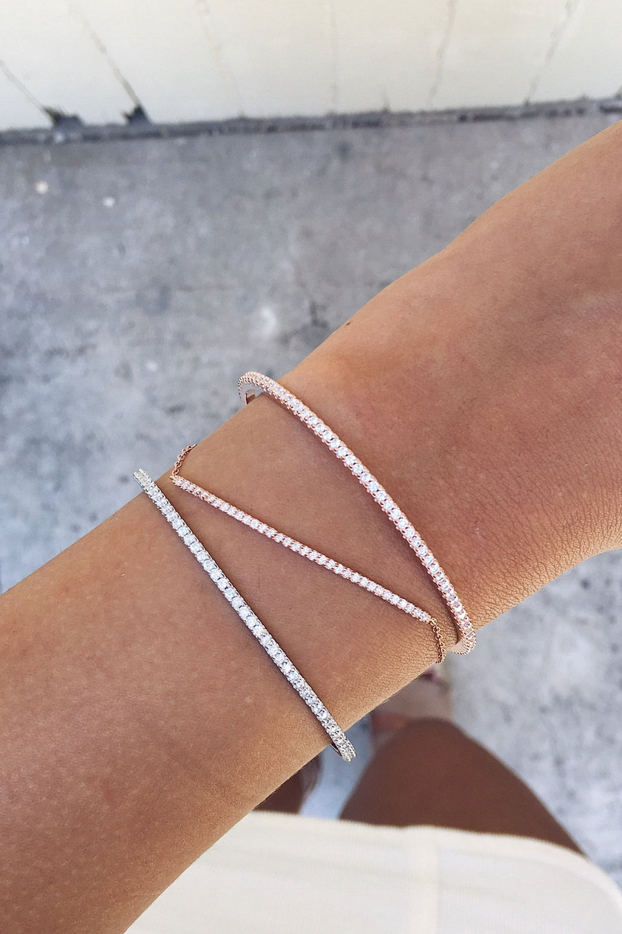 Layla Bangle in Silver - HER Empire Fashion Boutique Terrigal & Online