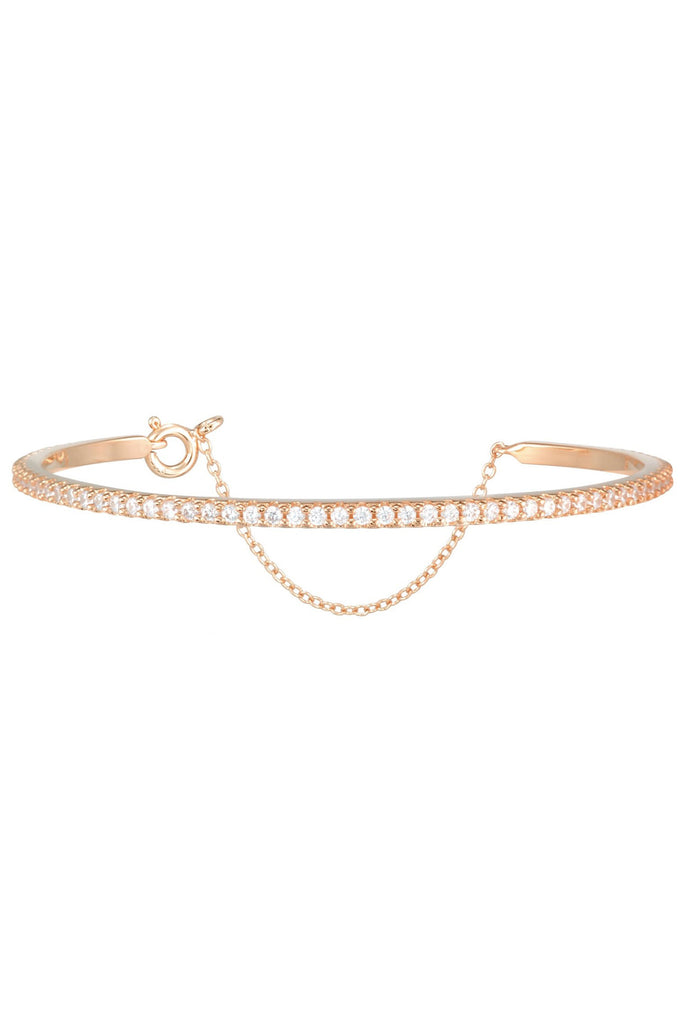 Layla Bangle in Rose Gold
