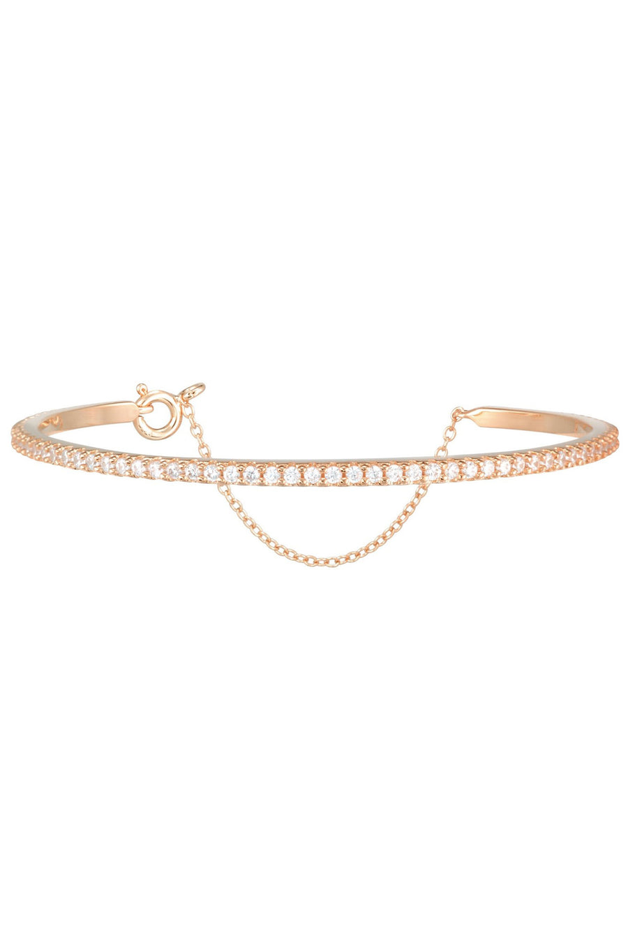 Layla Bangle in Rose Gold - HER Empire Fashion Boutique Terrigal & Online
