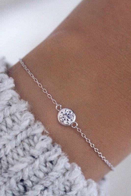 Myla Bracelet in Silver - HER Empire Fashion Boutique Terrigal & Online